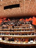 20th Meeting of Communist and Workers parties is going in Athens.