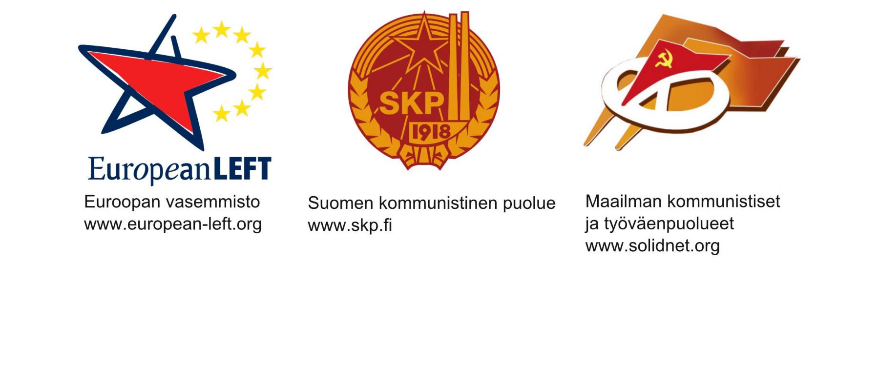 skp, european left, international communist and workers parties, communist party of finland